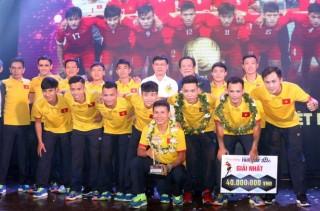 Đội tuyển futsal VN giành giải thưởng Fair Play 2016