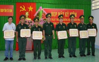 Họp mặt kỷ niệm ngày truyền thống Bộ đội biên phòng.
