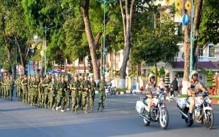 """Bộ CHQS Tây Ninh tham gia """"Ngày chạy thể thao CISM"""""""