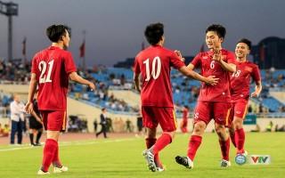 ĐT Việt Nam đá giao hữu với Đài Bắc Trung Hoa trên sân Hàng Đẫy