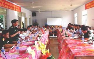 Bến Cầu: Họp cụm các xã biên giới Việt Nam-Campuchia