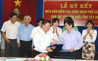 Tây Ninh đạt chuẩn quốc gia phổ cập giáo dục mầm non