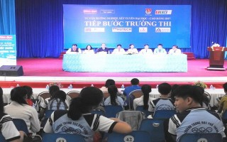 Tư vấn tuyển sinh, hướng nghiệp cho học sinh Tây Ninh