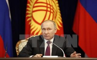 Tổng thống Nga Vladimir Putin bất ngờ cách chức 10 tướng lĩnh