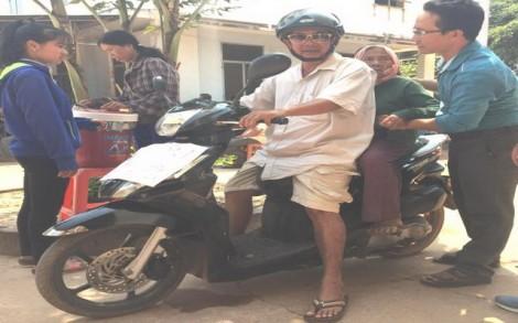 Xe ôm từ thiện
