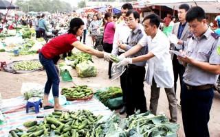 Tiếp tục mở rộng thanh tra chuyên ngành an toàn thực phẩm