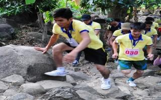 500 đoàn viên, thanh niên Tây Ninh chinh phục đỉnh núi Bà Đen