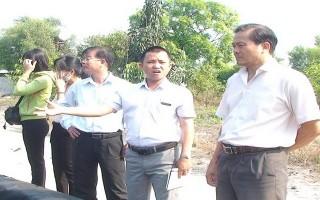 Châu Thành: Khảo sát tình hình xả thải khói bụi tại Công ty xử lý phế liệu rắn Miền Nam