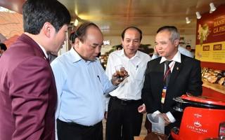 Thủ tướng thưởng thức cà phê tại 'thủ phủ cà phê' Đắk Lắk