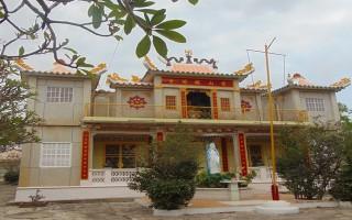 Chùa xưa trong phố Tây Ninh
