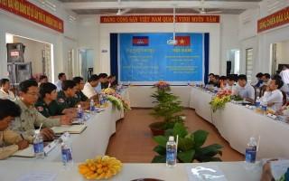 Xã Suối Ngô: Trao đổi tình hình an ninh trật tự với các xã giáp biên