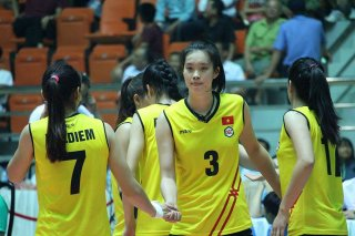 Tập trung đội tuyển bóng chuyền U23 nữ Việt Nam