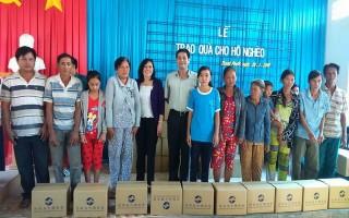 Năm 2016, công tác giảm nghèo trên địa bàn huyện Gò Dầu đạt 0,26%