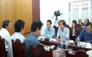 Kiểm tra công tác chuẩn bị tổ chức giải bóng chuyền nữ quốc tế Cup VTV9 - Bình Điền
