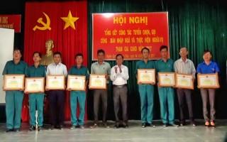 Huyện Dương Minh Châu: Tổng kết công tác tuyển quân 2017