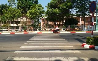 """THÀNH PHỐ TÂY NINH: Nhiều hướng dẫn giao thông """"ngược đời"""""""