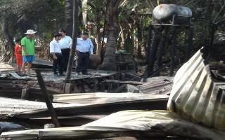 Bến Cầu: Hai căn nhà bị cháy rụi, thiệt hại hơn 50 triệu đồng