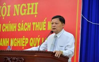 Cục Thuế Tây Ninh: Triển khai chính sách thuế mới và đối thoại với doanh nghiệp Quý I.2017
