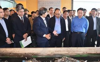 Thủ tướng tham quan công nghệ sản xuất điện rác đầu tiên của Việt Nam