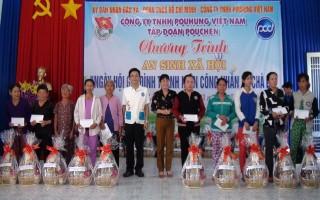 Ngày hội gia đình thanh niên công nhân ở xã Chà Là