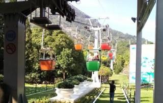 Hội xuân Núi Bà Đen 2017: Dịch vụ cáp treo, máng trượt đắt khách