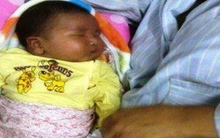 Bé trai nặng hơn 6kg chào đời ở Nghệ An