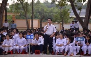 """Châu Thành: Tổ chức diễn đàn """"Người trẻ với lòng yêu nước"""""""