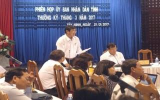 UBND tỉnh họp phiên thường kỳ tháng 3.2017