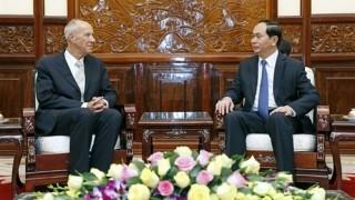 Chủ tịch nước Trần Ðại Quang tiếp Tổng Giám đốc Tổ chức WIPO