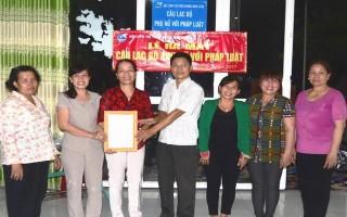 Thị trấn Dương Minh Châu: Ra mắt CLB Phụ nữ với pháp luật