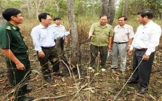 Tây Ninh: Tăng cường công tác phòng chống cháy rừng trong mùa khô năm 2017