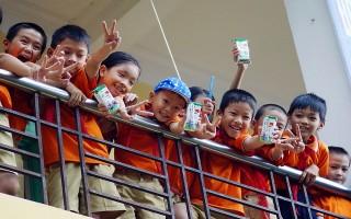 Chương trình Sữa học đường góp phần nâng cao tầm vóc trẻ