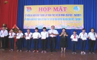Tân Biên: Họp mặt kỷ niệm 86 năm ngày thành lập Đoàn TNCS Hồ Chí Minh