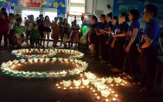 Co.opmart Tây Ninh hưởng ứng giờ trái đất năm 2017