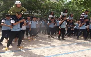 Hơn 400 học sinh tham gia Ngày hội thanh niên