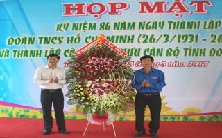 Tây Ninh:  Họp mặt cán bộ Đoàn và thành lập CLB Cựu cán bộ Tỉnh đoàn