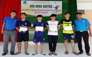 Châu Thành: Khai mạc Giải bóng Chuyền học sinh khối THPT