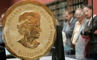 Trộm đánh cắp đồng xu vàng 100 kg ở bảo tàng Đức