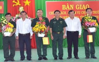 Bàn giao chức trách, nhiệm vụ Chỉ huy trưởng BĐBP tỉnh Tây Ninh