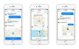 Facebook Messenger thêm tính năng chia sẻ vị trí thời gian thực tiện lợi