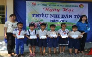 Ngày hội Thiếu nhi dân tộc huyện Dương Minh Châu