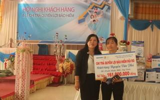 Bảo hiểm Nhân thọ Tây Ninh chi trả tiền cho khách hàng
