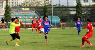 Đội tuyển bóng đá nữ Việt Nam sẵn sàng bước vào vòng loại châu Á 2018