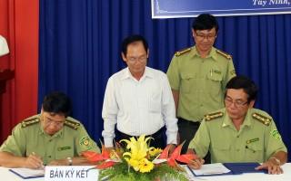 Tây Ninh, Bình Dương, Bình Phước chung tay bảo vệ rừng khu vực giáp ranh