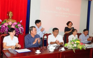 UBKT Tỉnh ủy Tây Ninh giao ban công tác quý I.2017