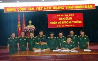 Bàn giao nhiệm vụ Sư đoàn trưởng Sư đoàn 5