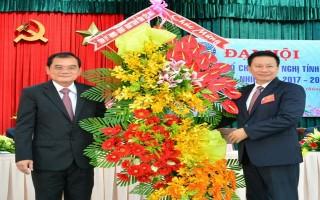 Liên hiệp các tổ chức hữu nghị tỉnh Tây Ninh tiến hành Đại hội lần thứ I, nhiệm kỳ 2017-2022