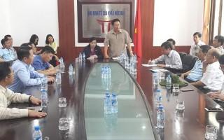 Đoàn giám sát của Quốc hội kiểm tra công tác phòng, chống buôn lậu tại Cửa khẩu Mộc Bài