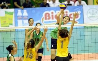 Tổ chức thi đấu giao lưu chào mừng Giải bóng chuyền nữ quốc tế cúp VTV-Bình Điền