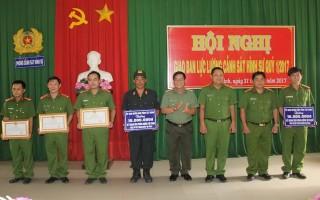 UBND tỉnh: Khen thưởng Phòng Cảnh sát Hình sự, Phòng Cảnh sát Cơ động Công an Tây Ninh